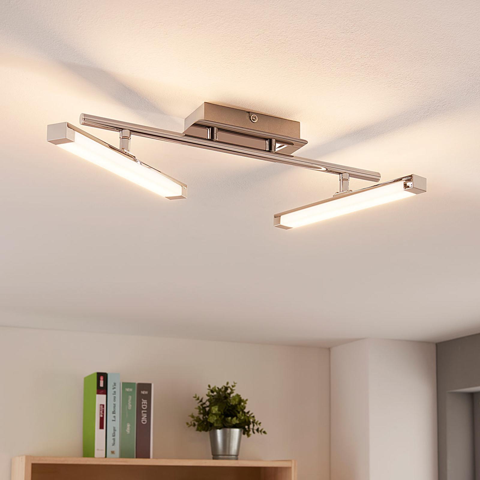 Lampa sufitowa LED Pilou, ściemniana 3-stopniowo