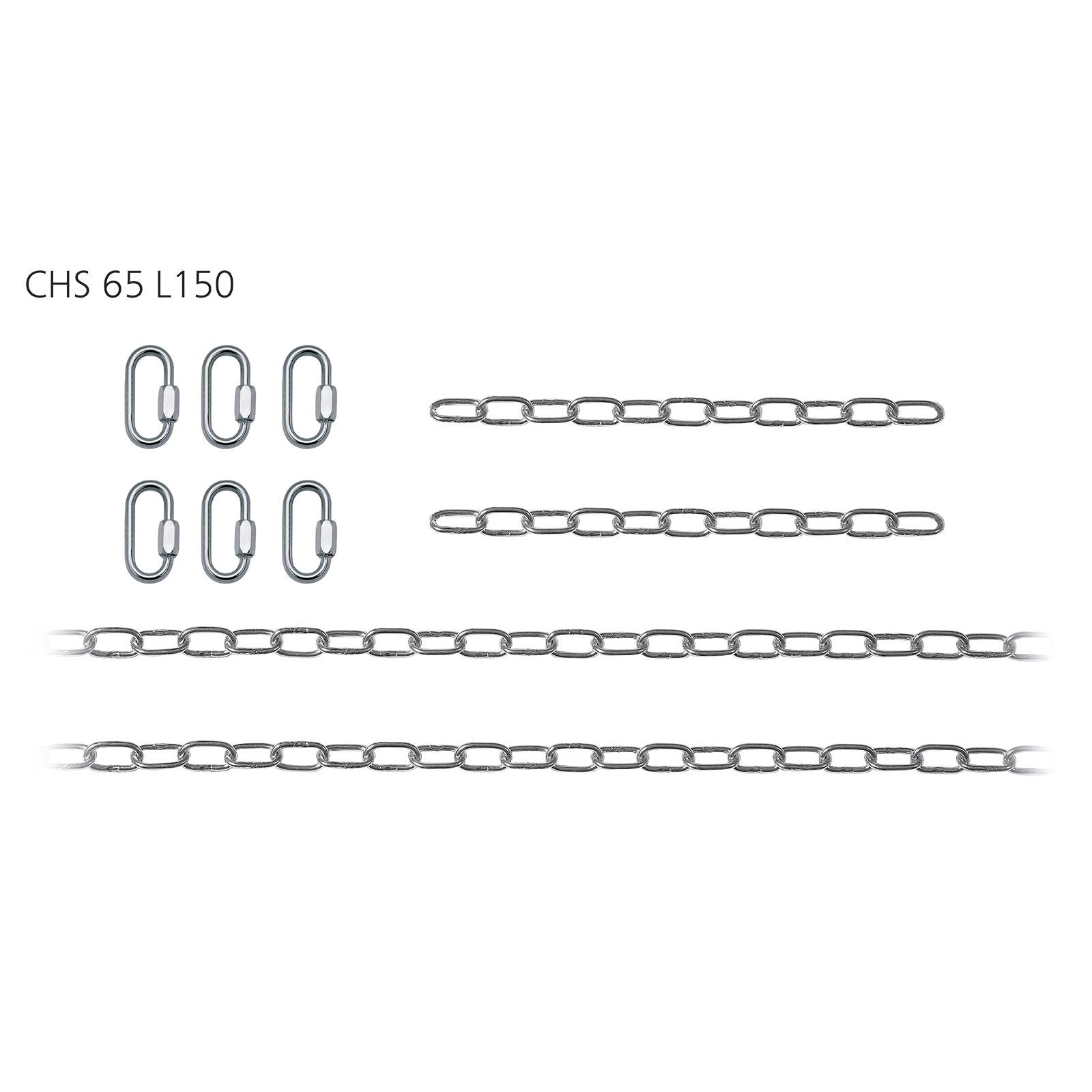 Suspension par chaîne pour suspensions Ghada 2