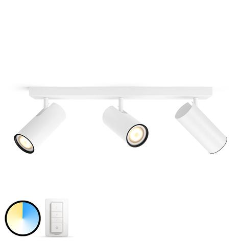 Philips Hue Buratto spot LED 3 l inter. var. blanc
