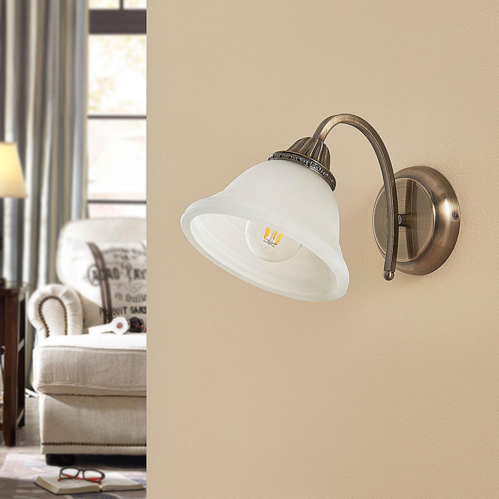 Mialina - lampada da parete curva