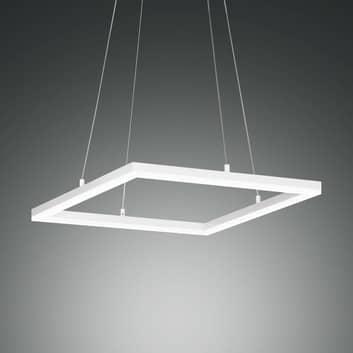 Lampada sospensione LED Bard, 42x42cm in bianco