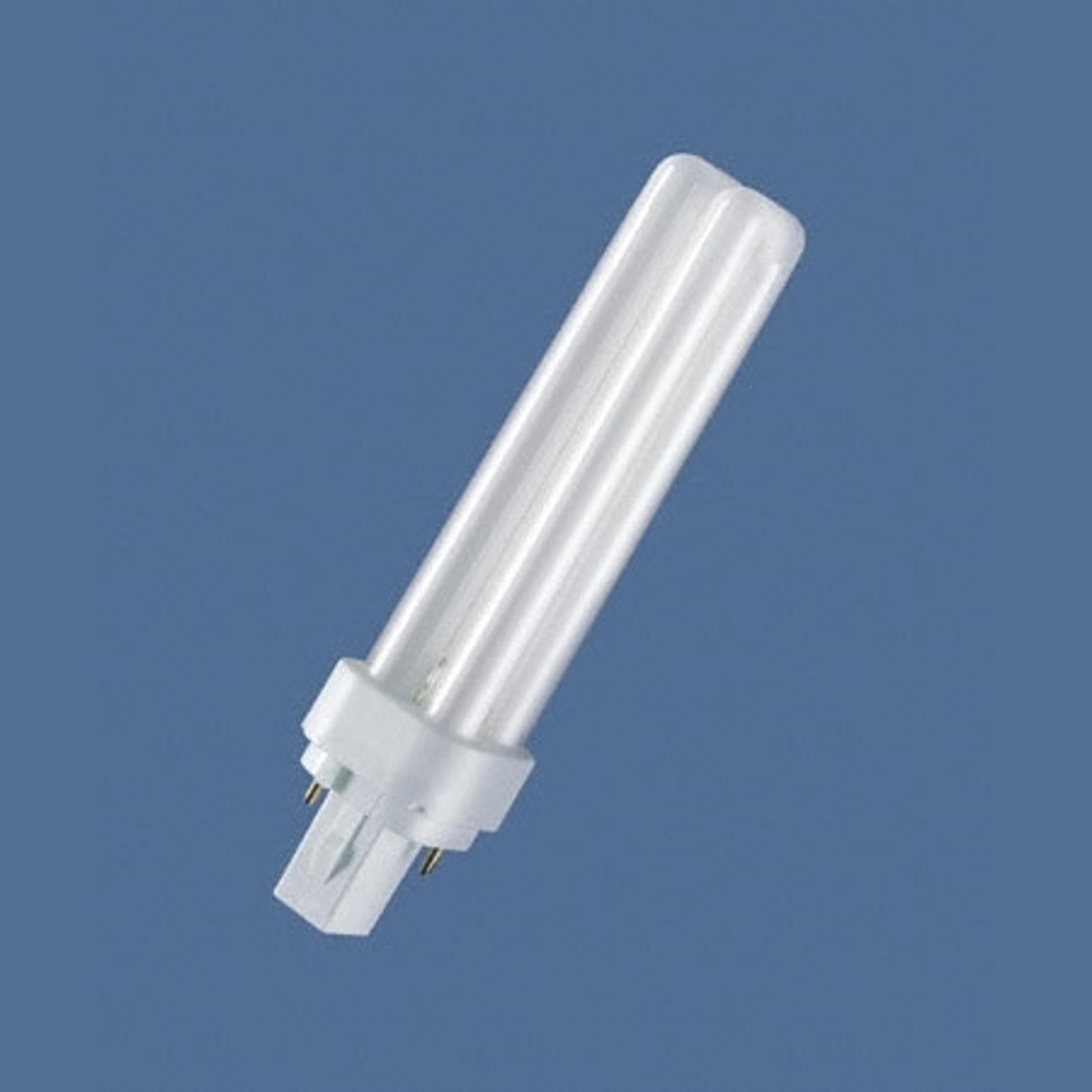 G24d 10W/827 Ampoule fluo-compacte Dulux D