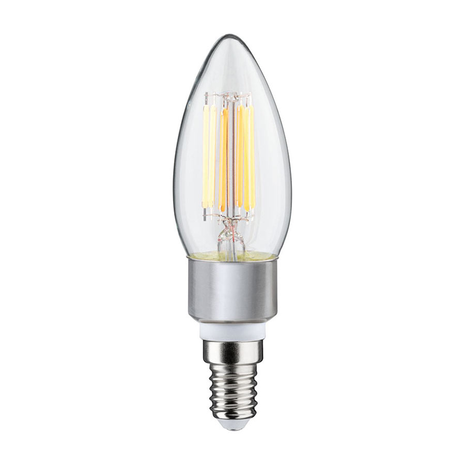 Paulmann ampoule flamme LED E14 5 W dim to warm