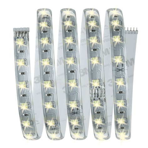 Basisset MaxLED LED Strip 150cm wit verstelbaar