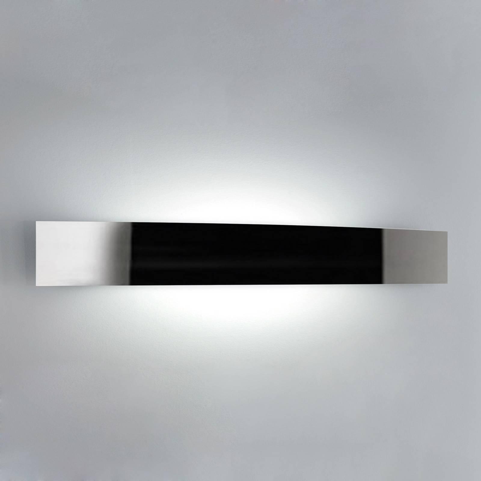 Mooie wandlamp RIGA, 56 cm, rvs