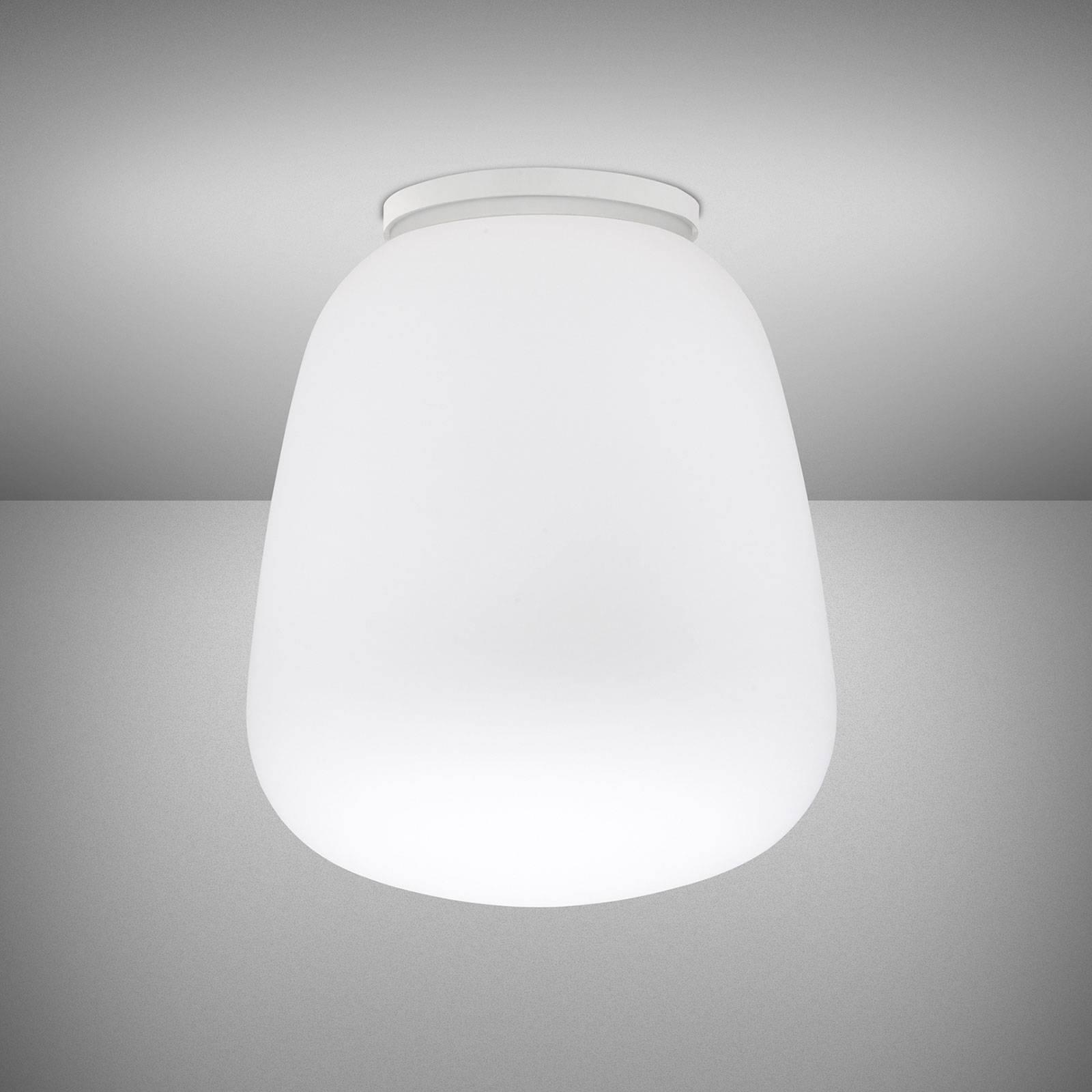 Fabbian Lumi Baka glas-plafondlamp, Ø 33 cm