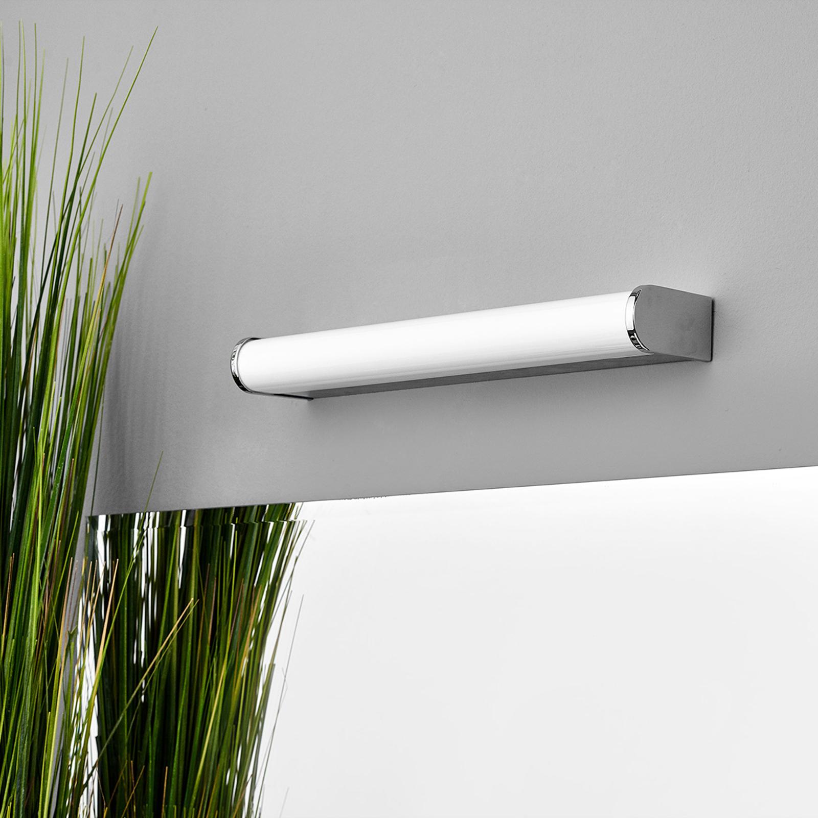 LED-bad- og speillampe Philippa halvrund 32cm