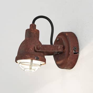 Lámpara de pared Bente estilo industrial