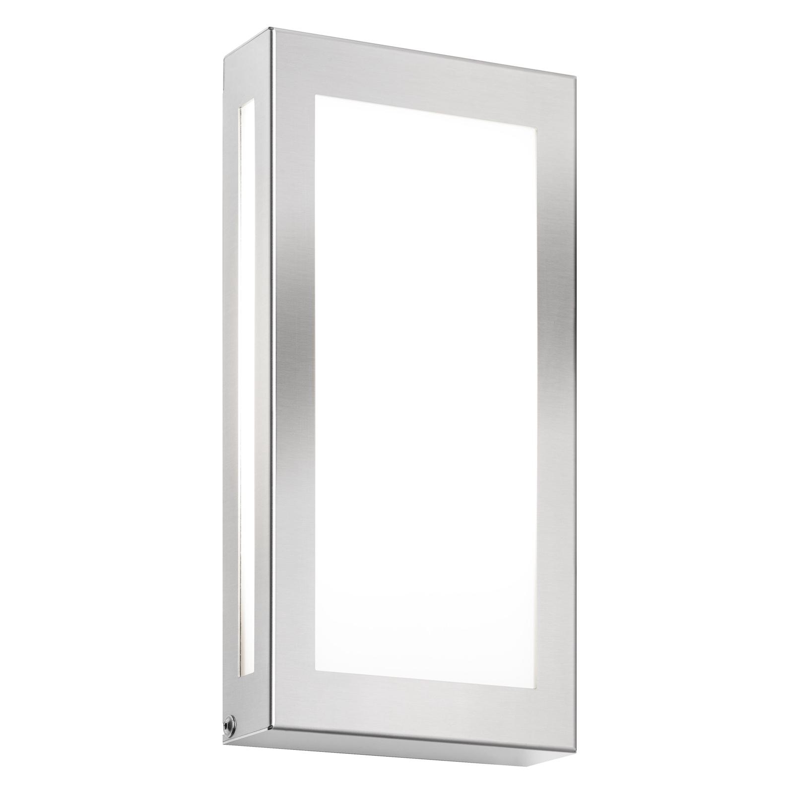 LED-Außenwandleuchte 118LED, edelstahl