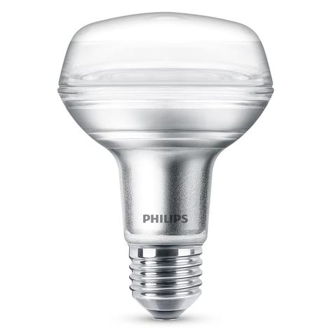 Philips LED-Reflektor E27 R80 8W 827