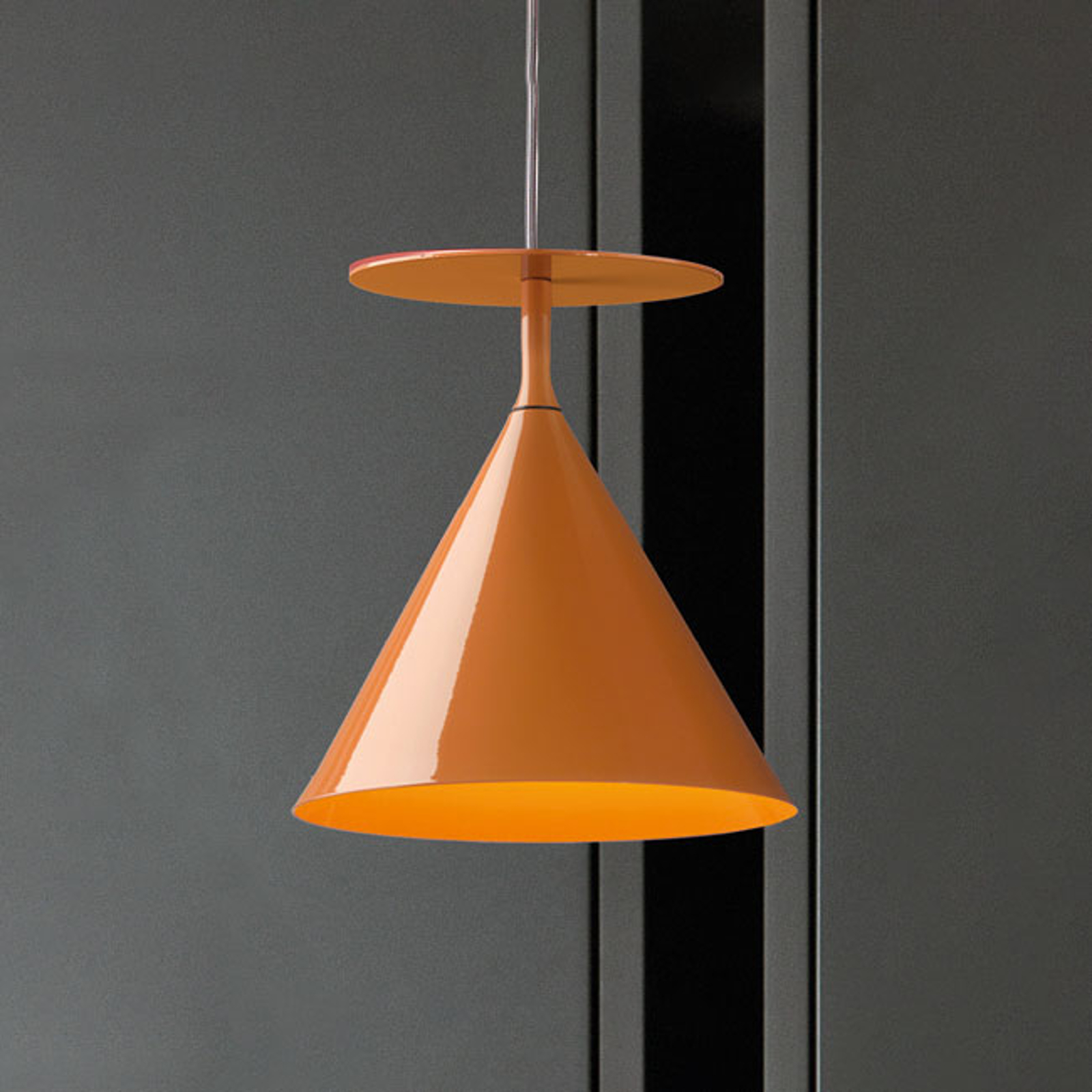 Modo Luce ABC Single C lampa wisząca karmelowa