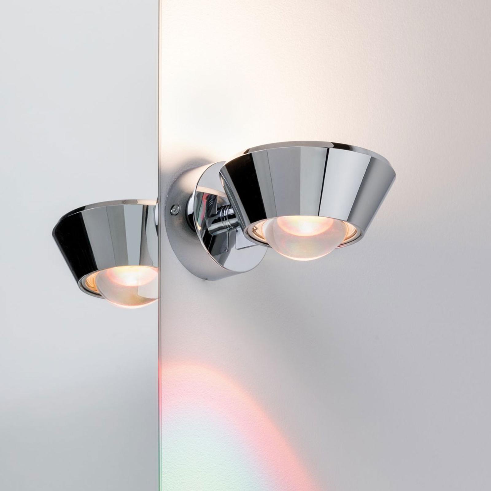 Paulmann Sabik applique LED chromé