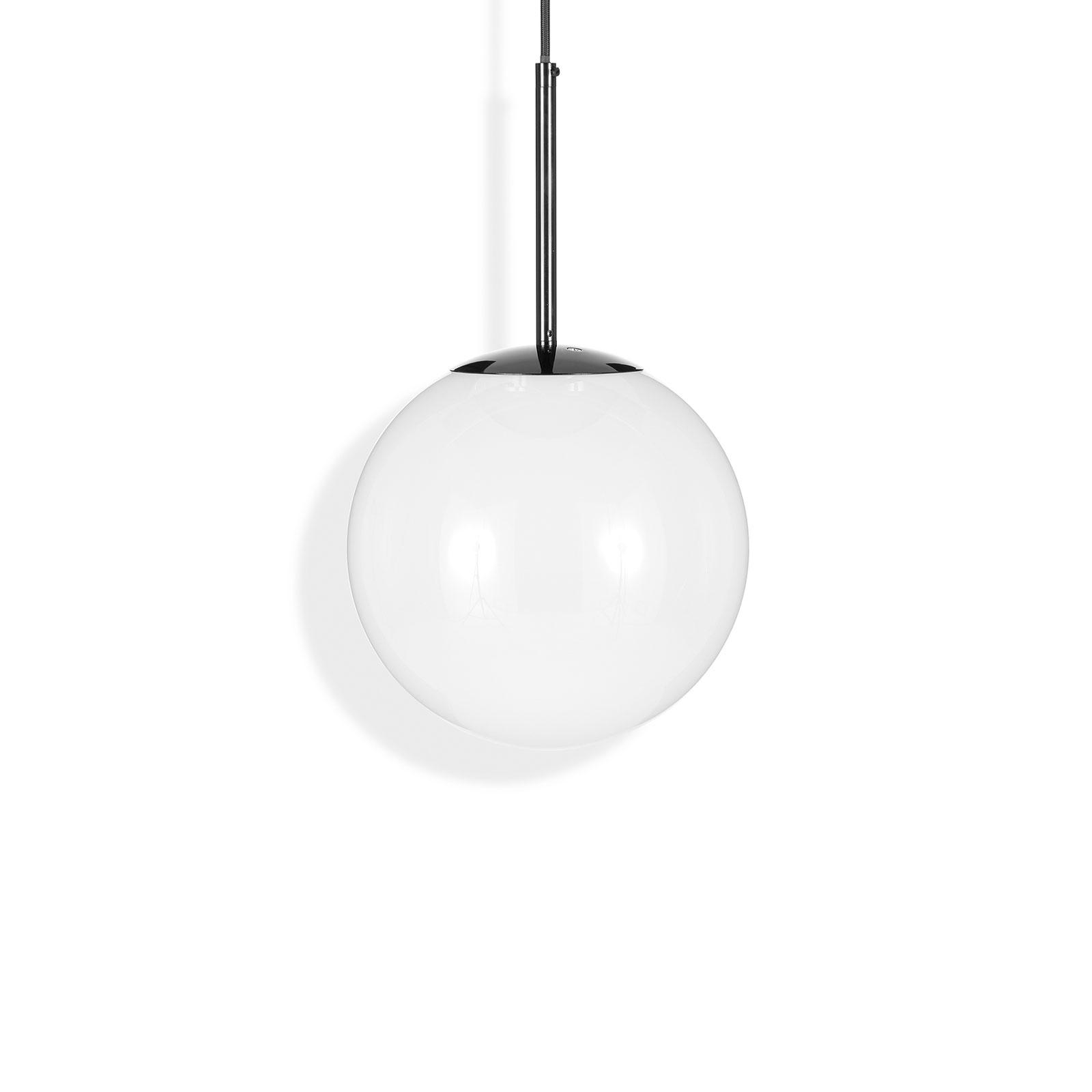 Tom Dixon Opal Kugel-LED-Hängelampe, Ø 25 cm