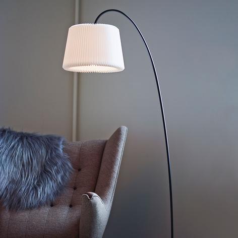 LE KLINT Snowdrop - lampadaire en papier blanc