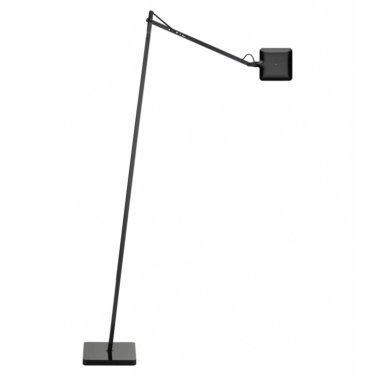 Designergolvlampa KELVIN LED, svart