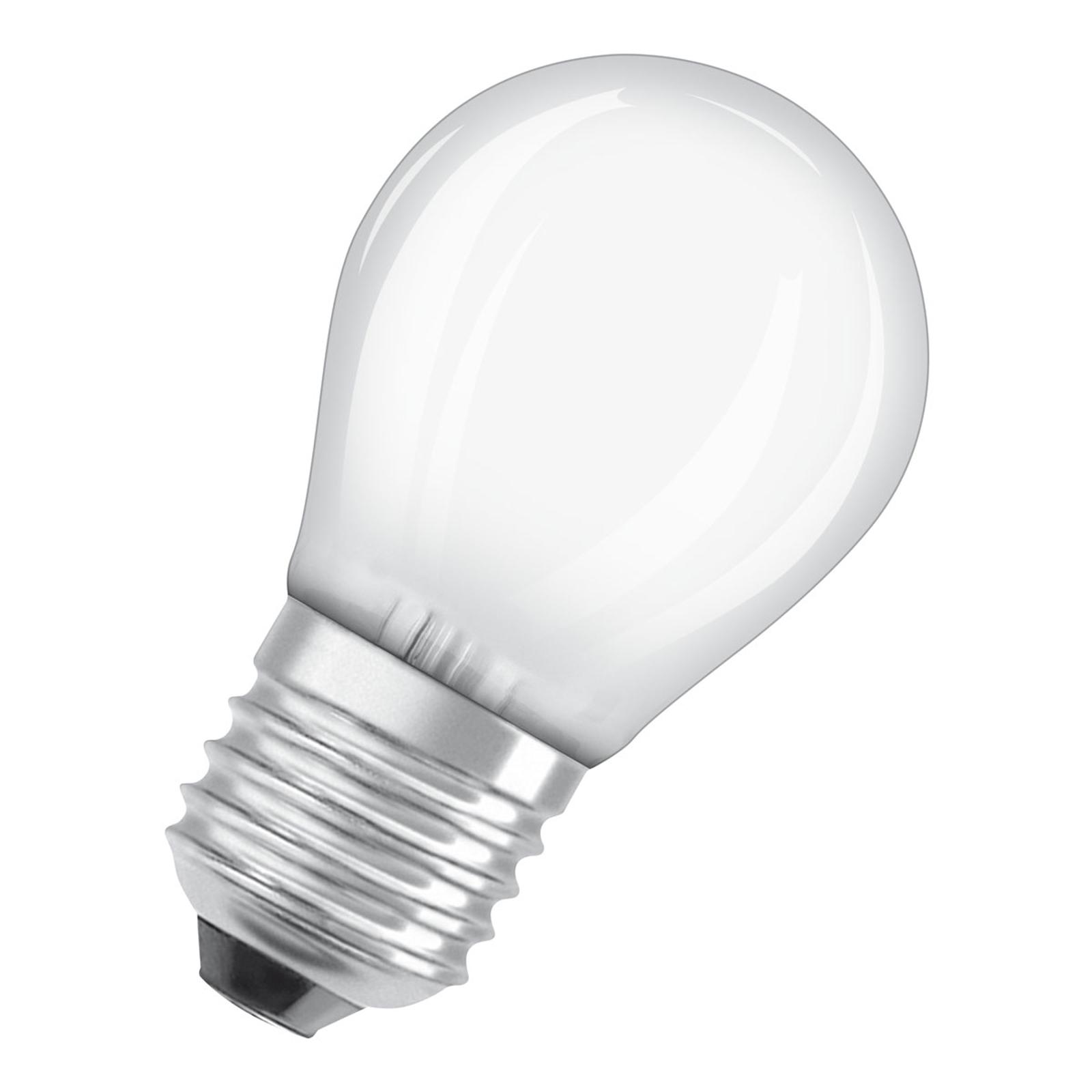 OSRAM LED-pære E27 7 W Classic P 2°700 K matt