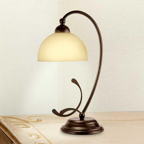 Lorenzo rustik bordlampe