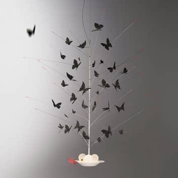 Ingo Maurer Set Schmetterlinge schwarz