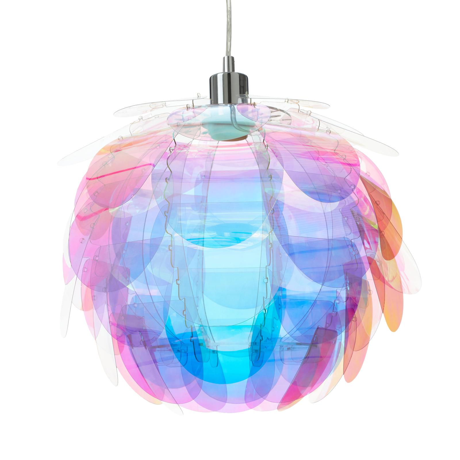 Lampa wisząca Clover w kolorach tęczy