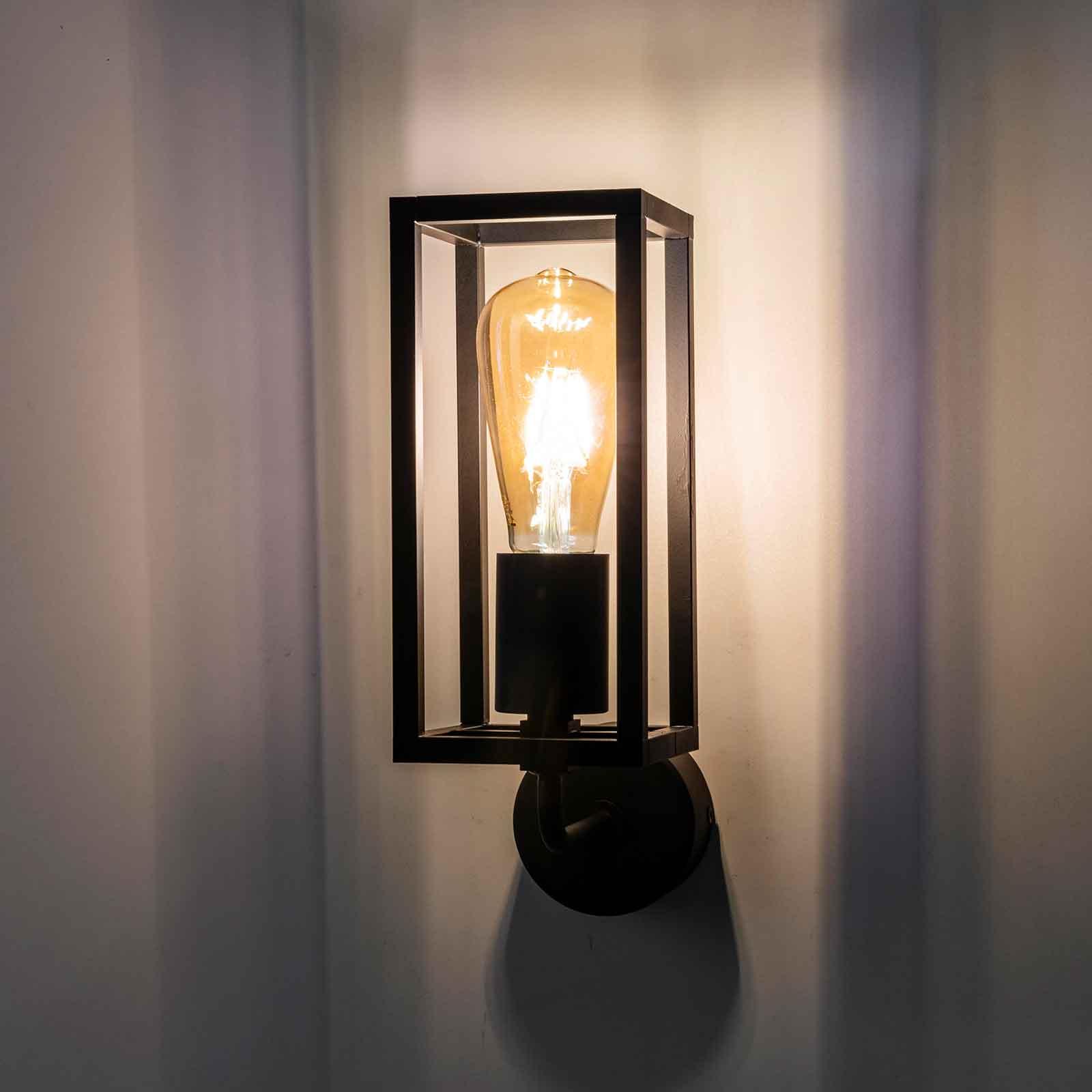 Wandlamp Cubic³ 3375 zwart