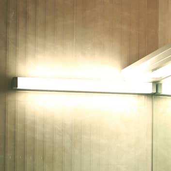 LED-vegglampe 512106 for speiling, sølv