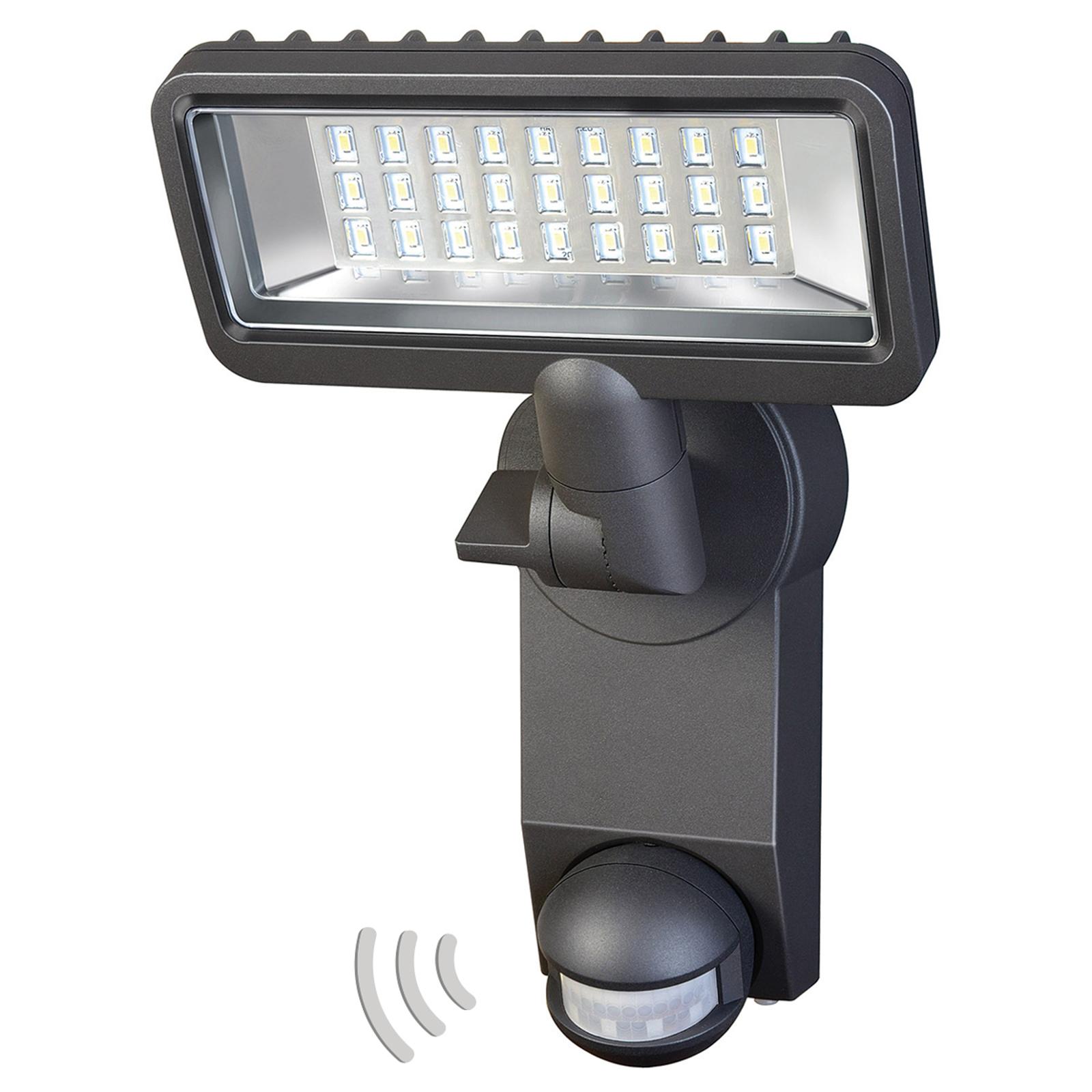 Udendørs LED projektør City m. bevægelsessensor