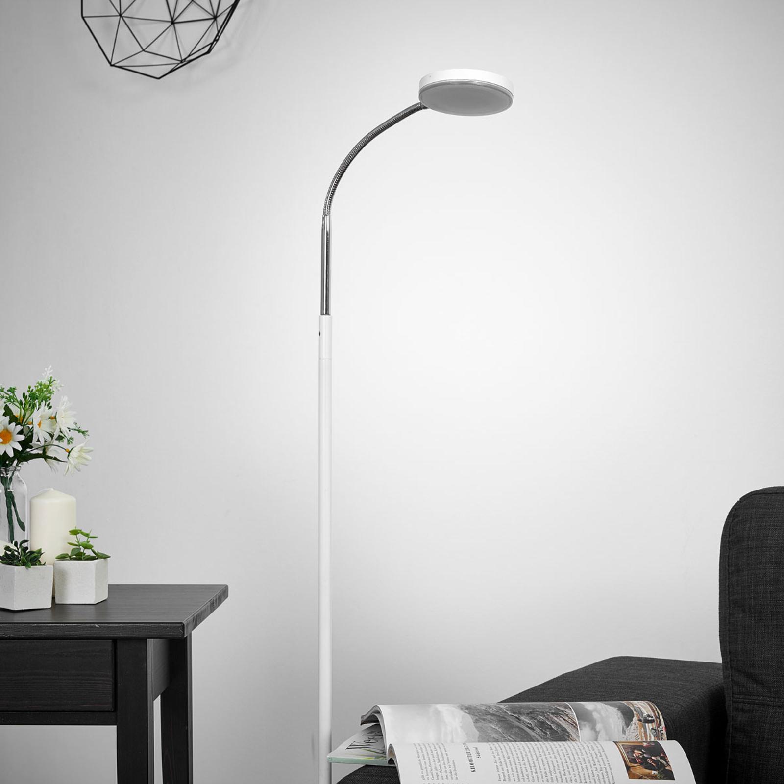 Lampadaire LED Milow avec col de cygne