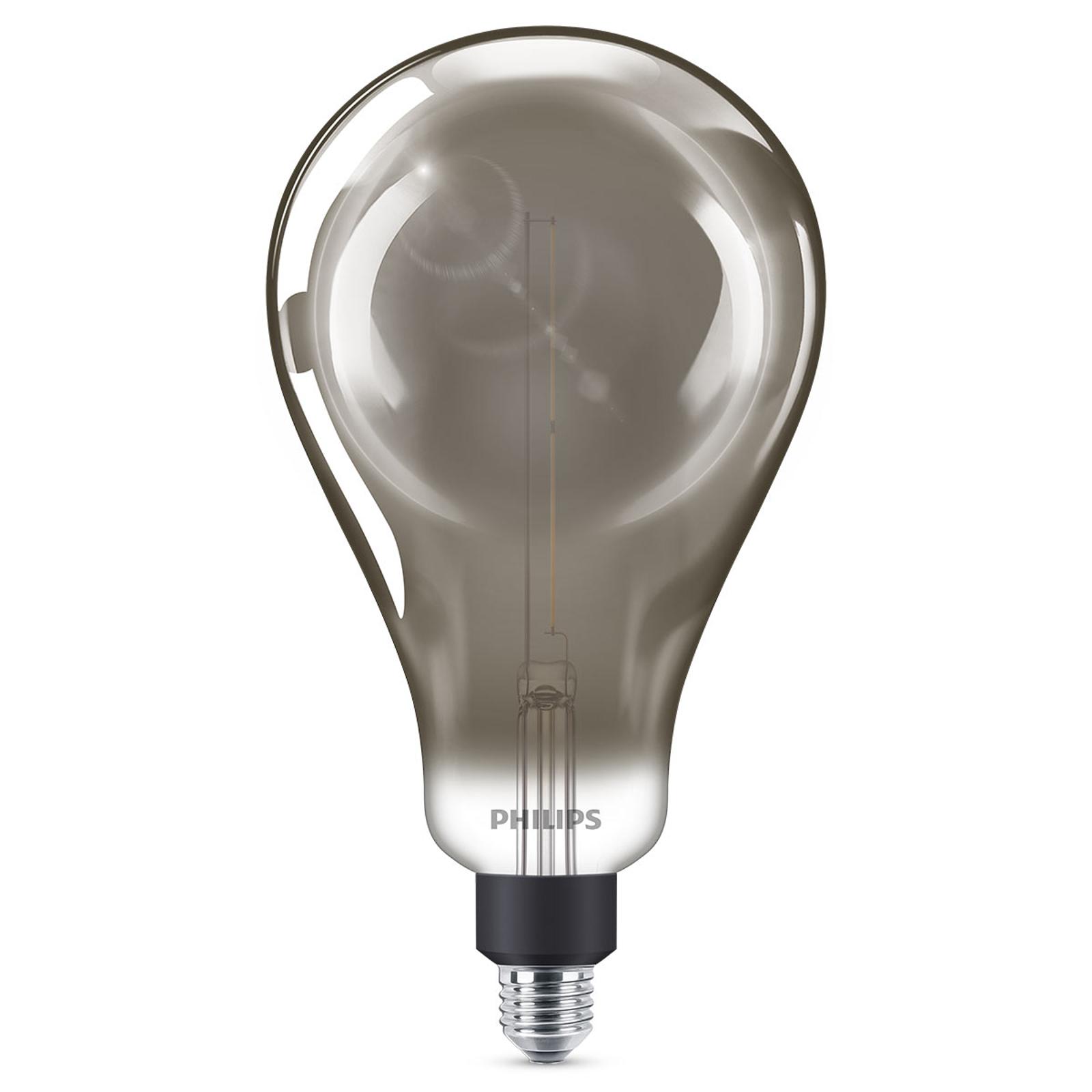 Philips E27 Giant LED-Lampe 6,5W dimmb. smoky