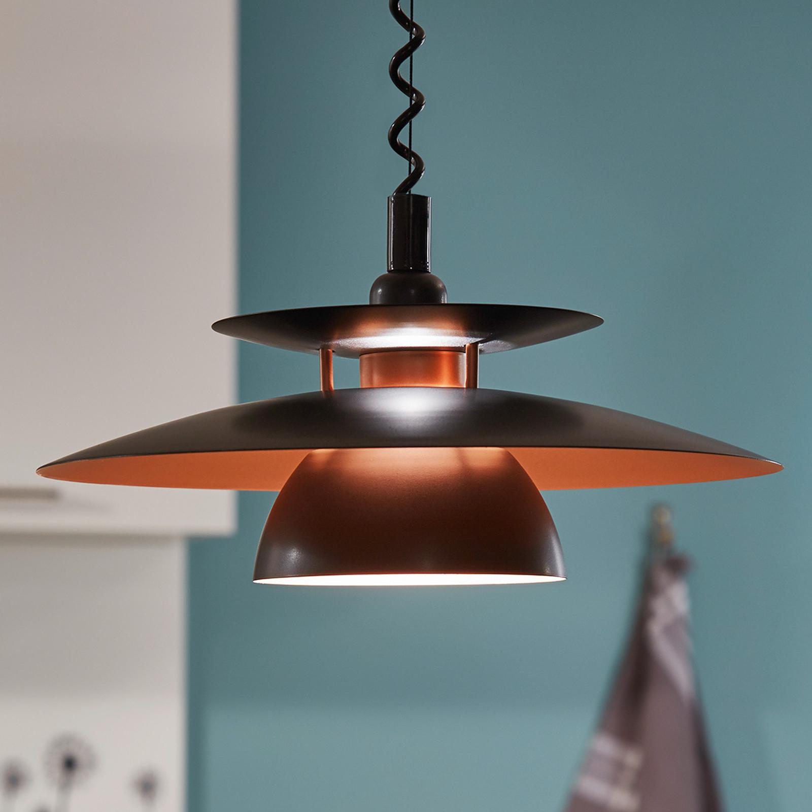 Brenda, una lámpara colgante con altura regulable