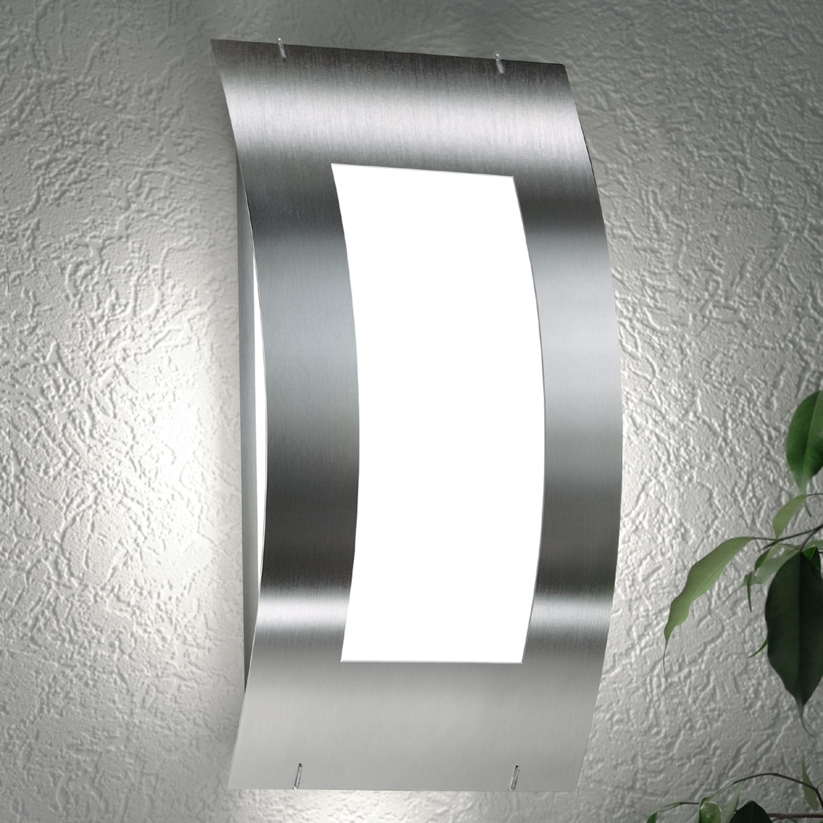 Mooi buitenwandlamp Quadrat zonder sensor