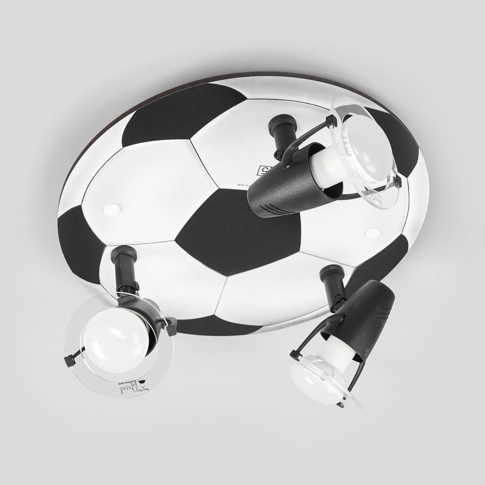 Deckenleuchte FUSSBALL 3-flammig