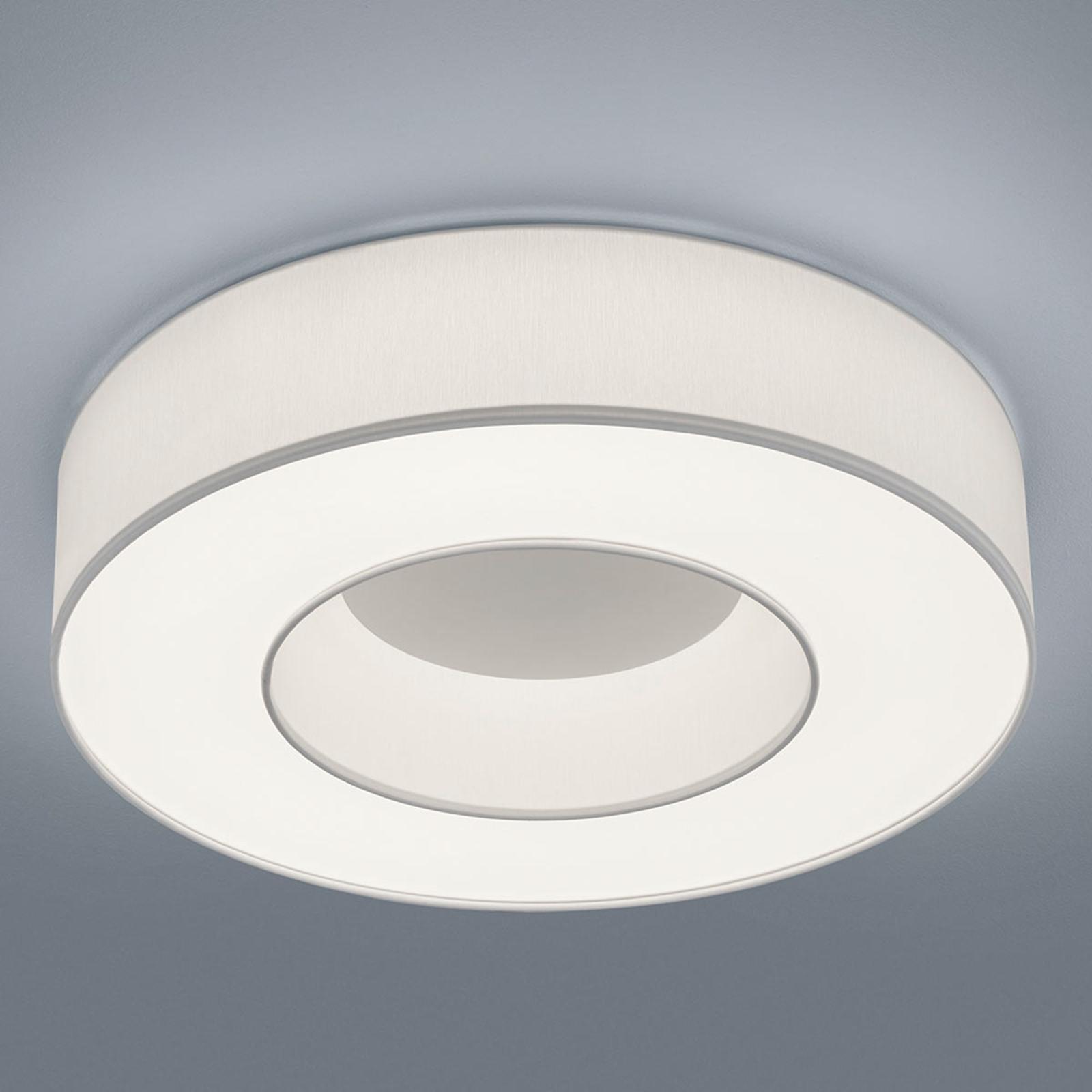 Helestra Lomo - lampa sufitowa LED, biała chintz