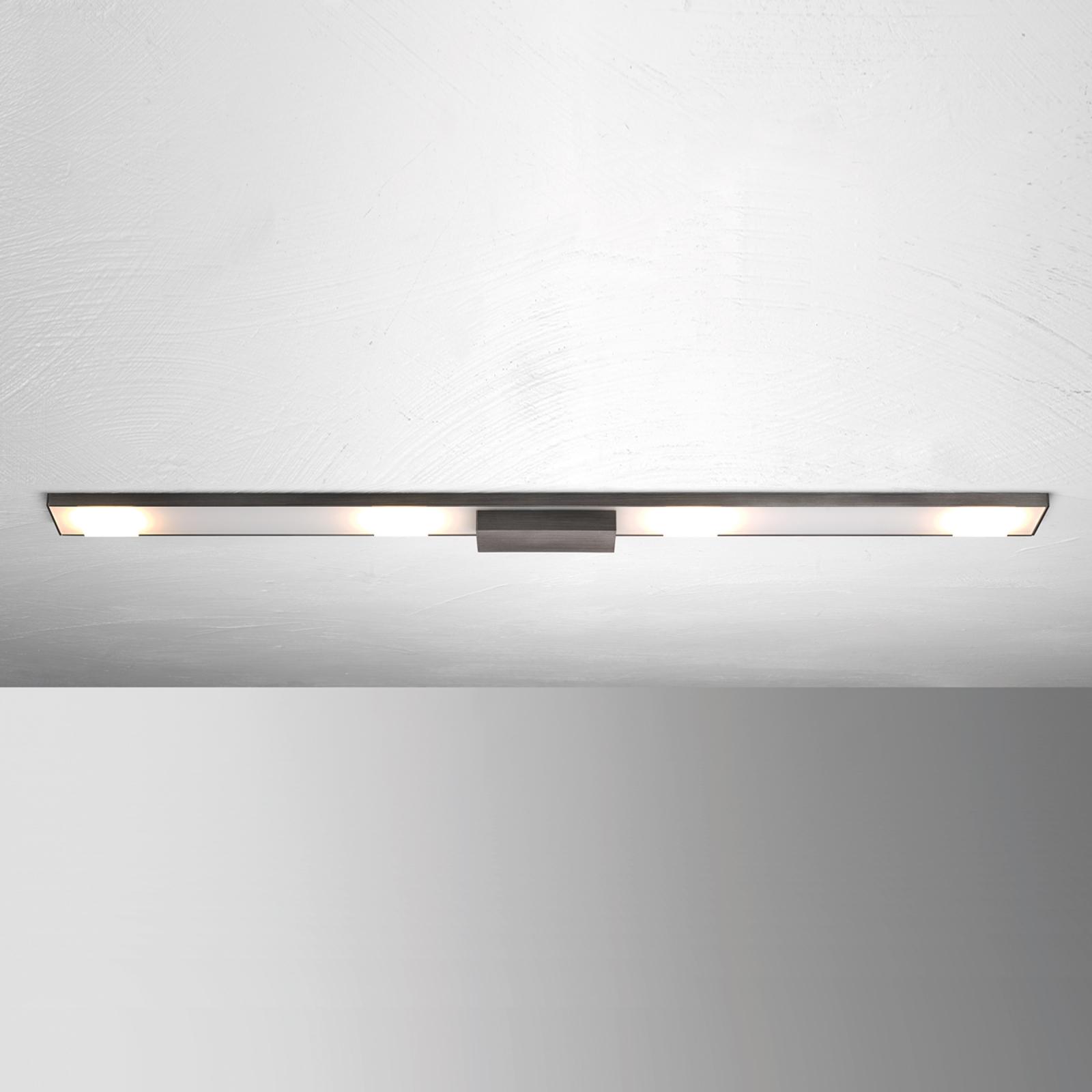 LED-taklampe Slight med fire lys, antrasitt