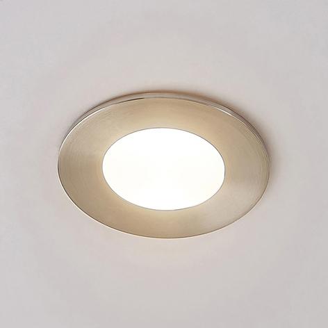 Lucande Celestina inbyggnadslampa, IP65, rund