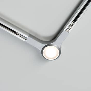 Paulmann URail LED L-Connector, krom matt