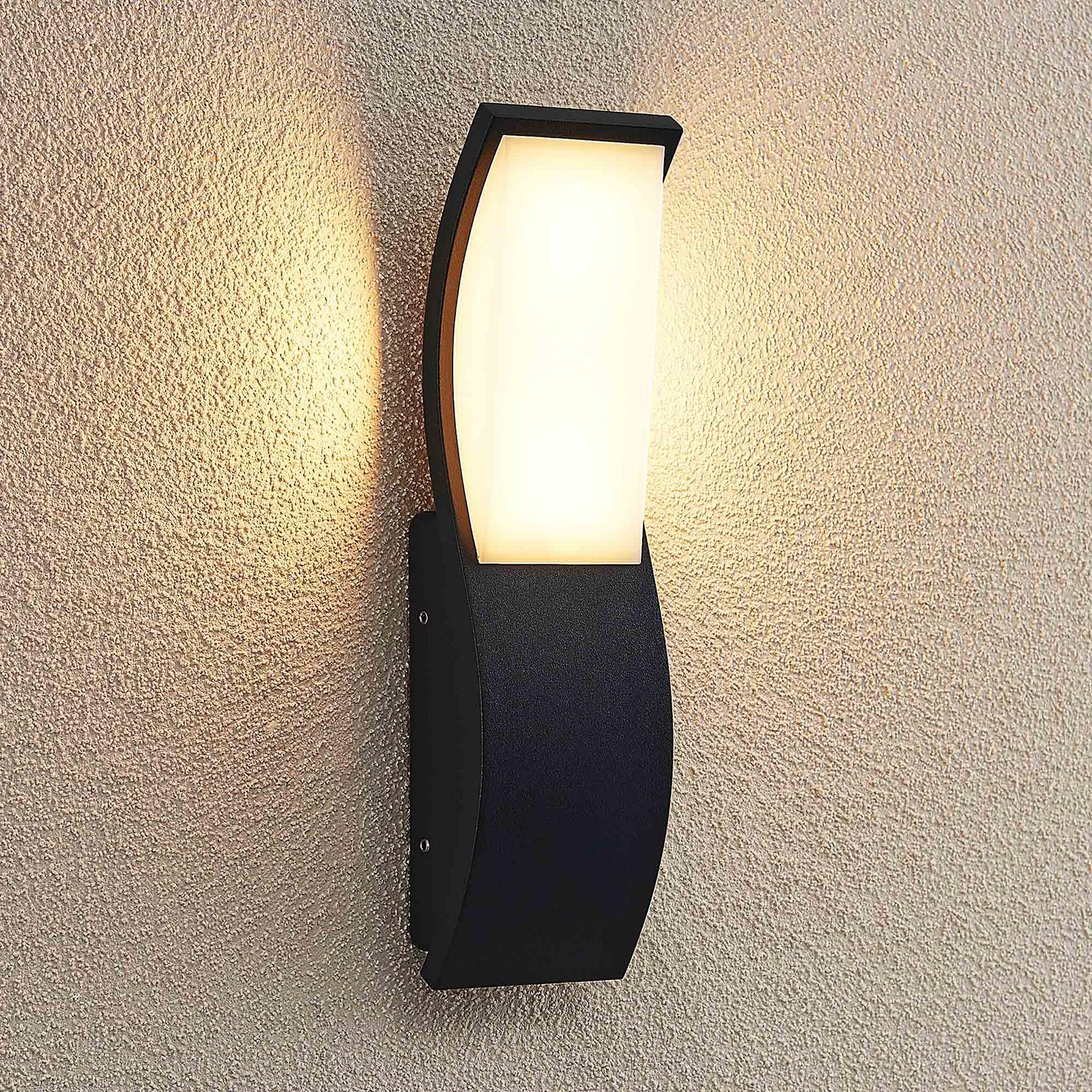 Lucande Maca kinkiet zewnętrzny LED