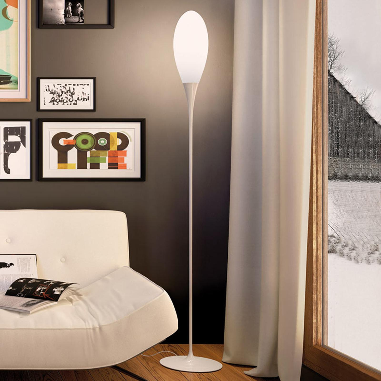 Minimalistyczna lampa stojąca Spillo