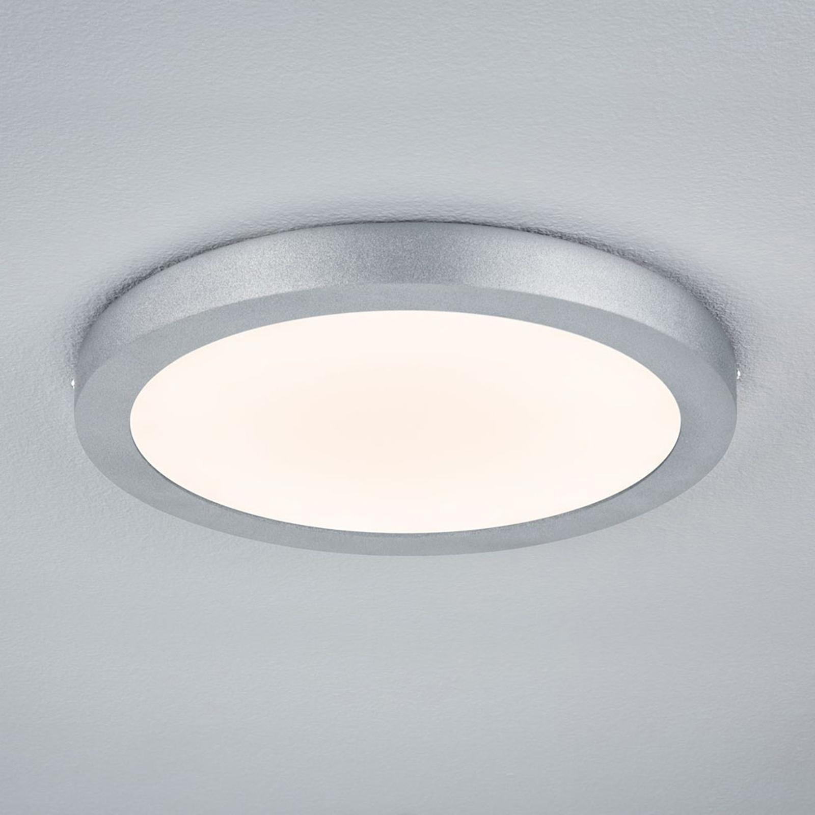 Paulmann Lunar LED-Panel, rund, Ø 30 cm, chrom