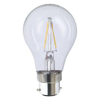 B22 2 W 827 LED-pære