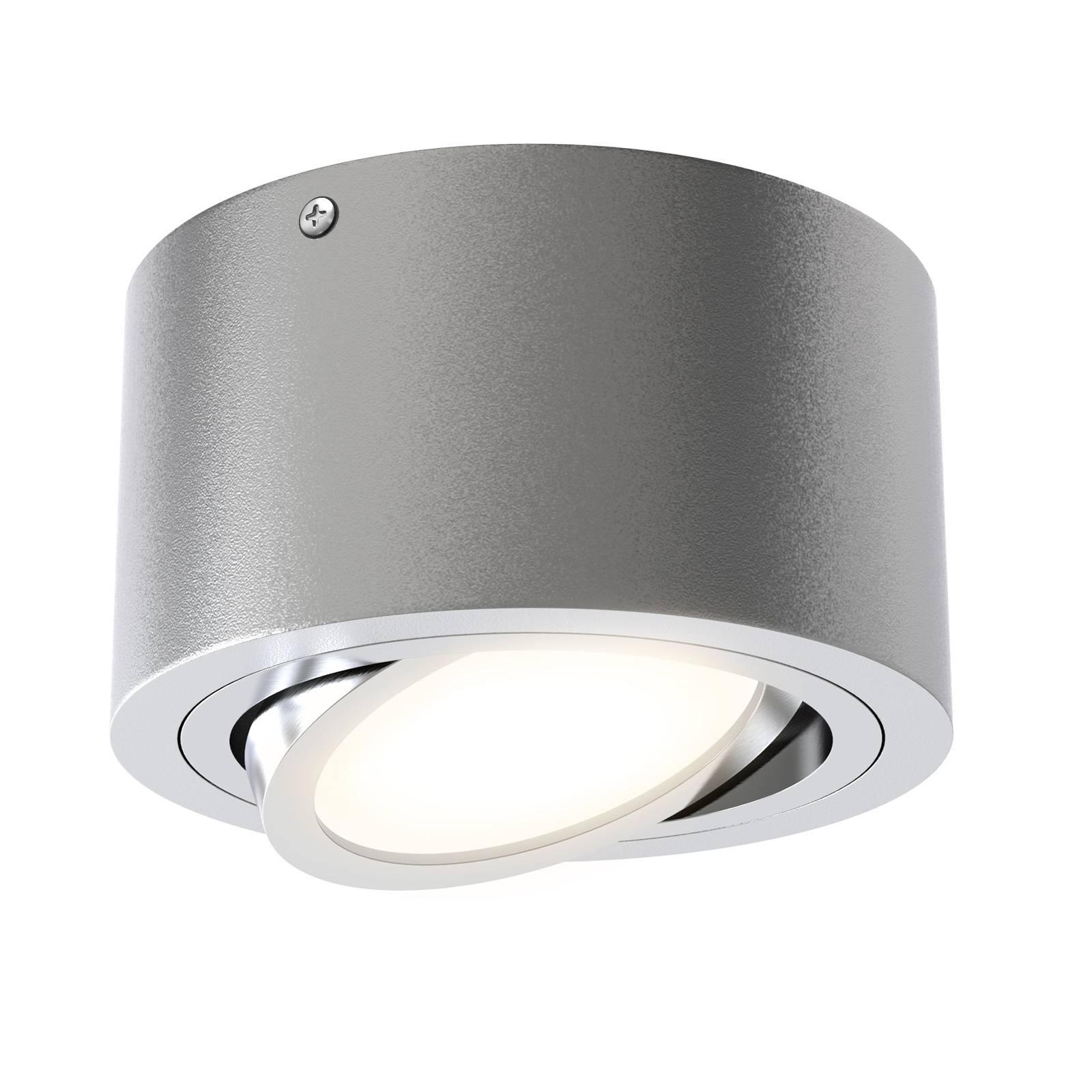 Spot LED Tube 7121-014 in argento