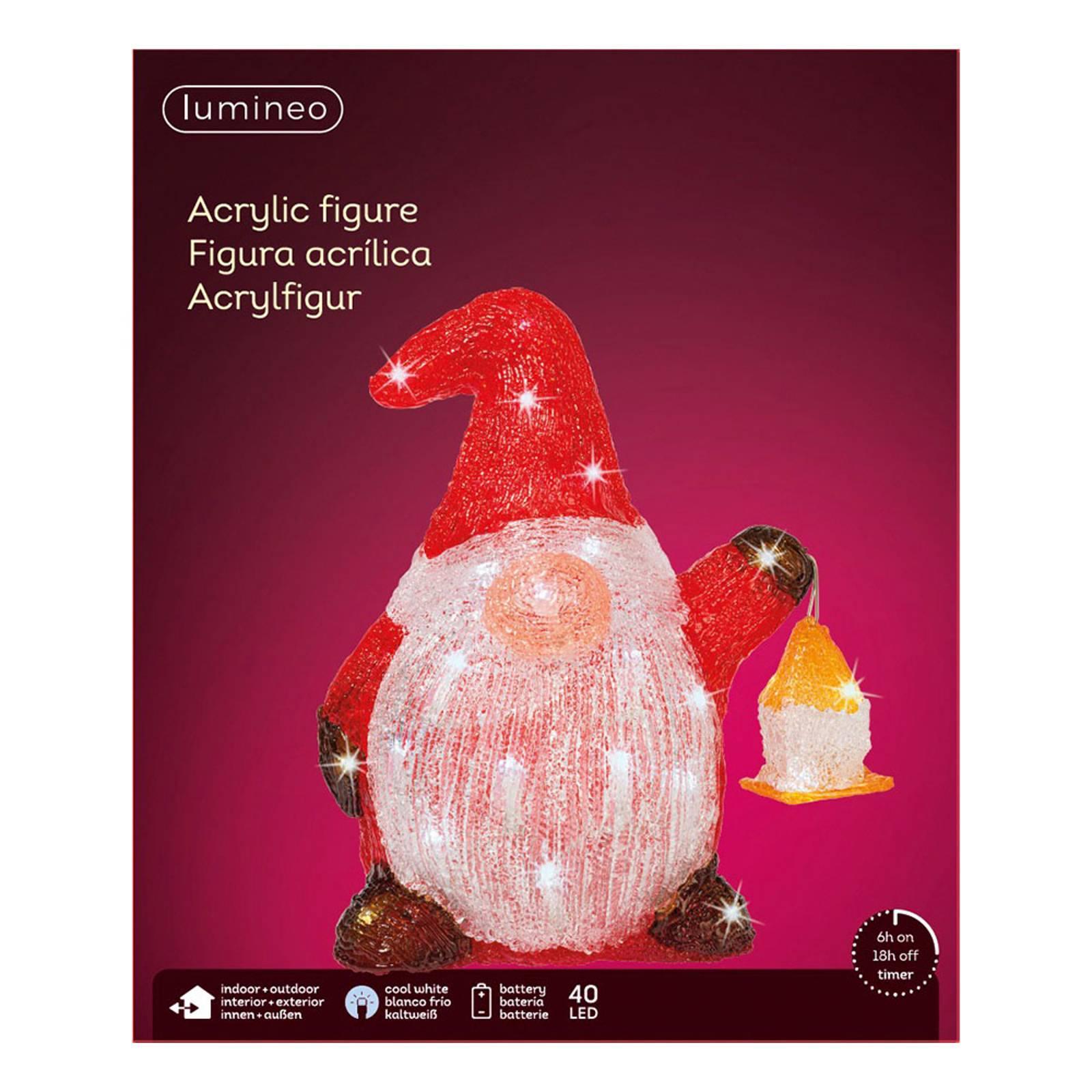 "*For X-Mas*: LED-Figur ""Zwergenkind"" aus Acryl"