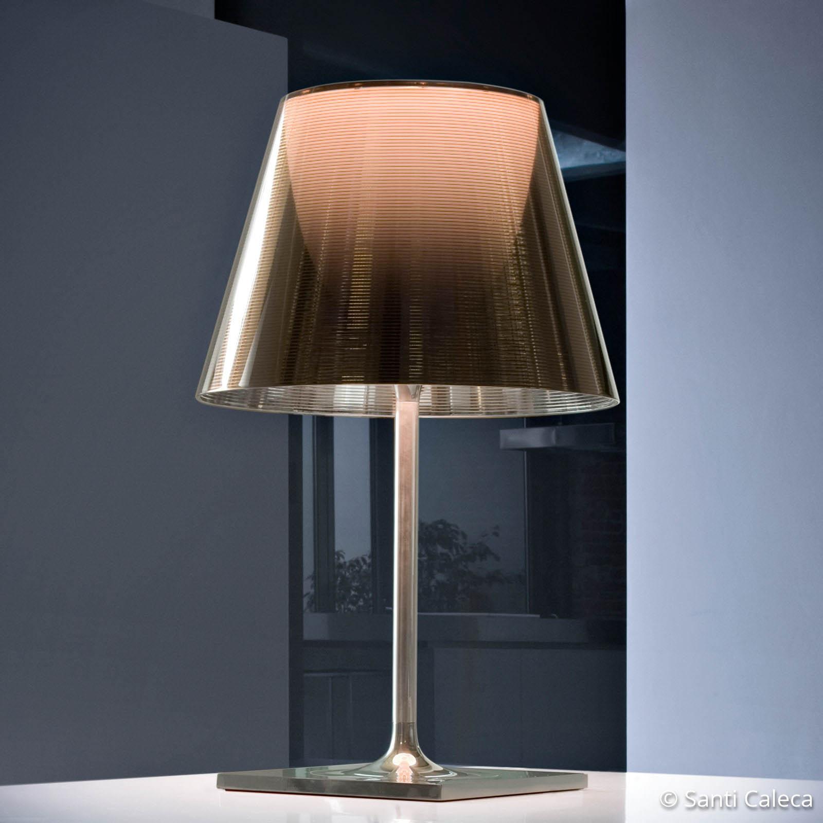 FLOS KTribe T2 Tischleuchte, bronze