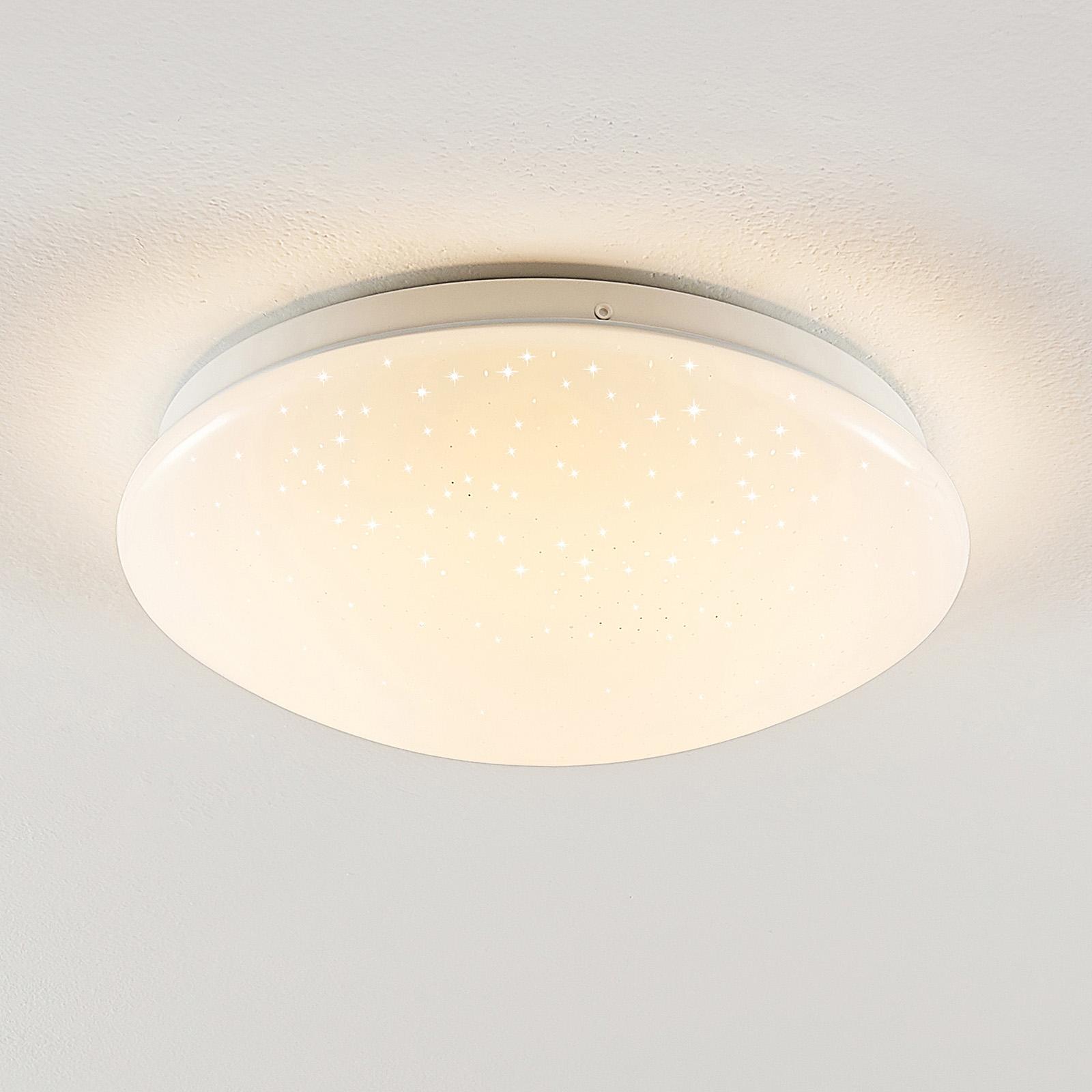 Lindby Janosch LED stropní světlo, dálk. ovládání