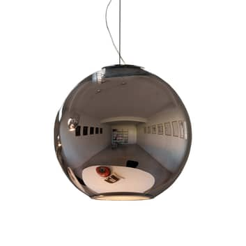 Lustrzana lampa wisząca GLOBO DI LUCE - śr. 30 cm
