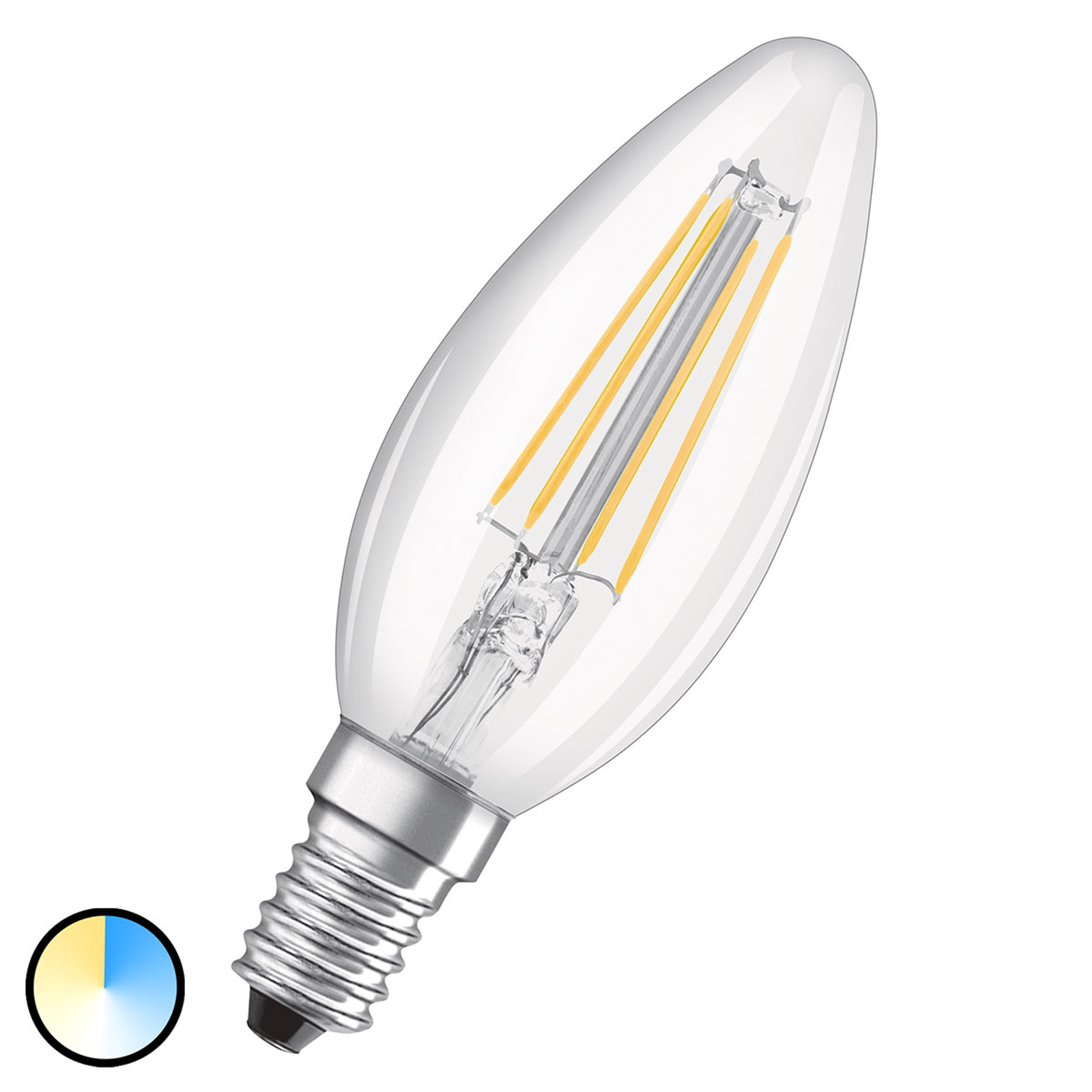 OSRAM LED-lampa CLB E14 4W Star+ Relax&Active