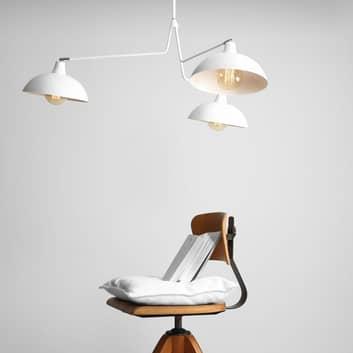 Lámpara colgante 1036, 3 luces, blanca
