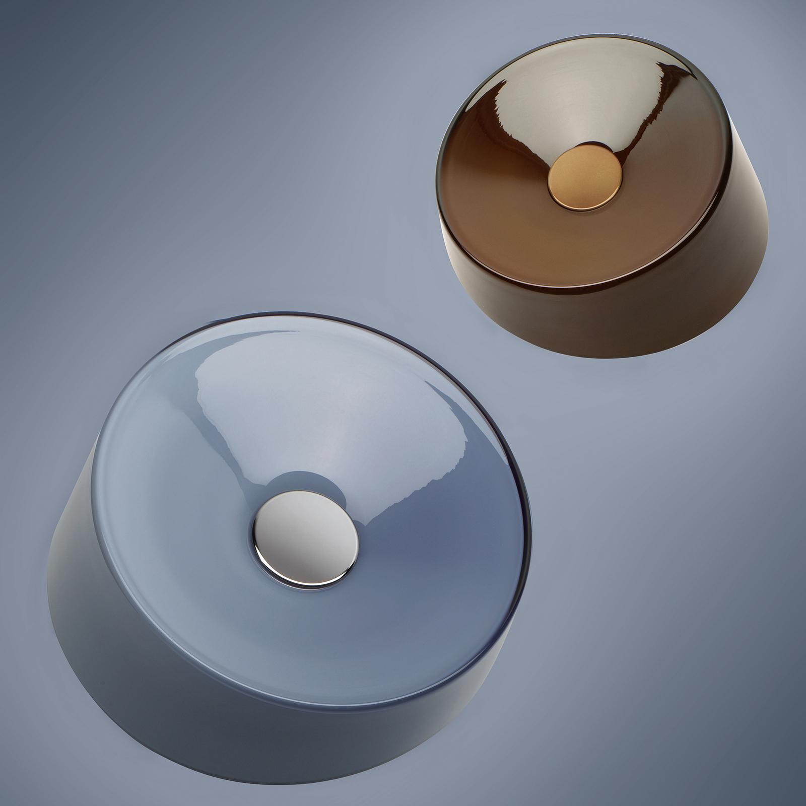 Foscarini Lumiere XXL LED-Deckenleuchte, grau