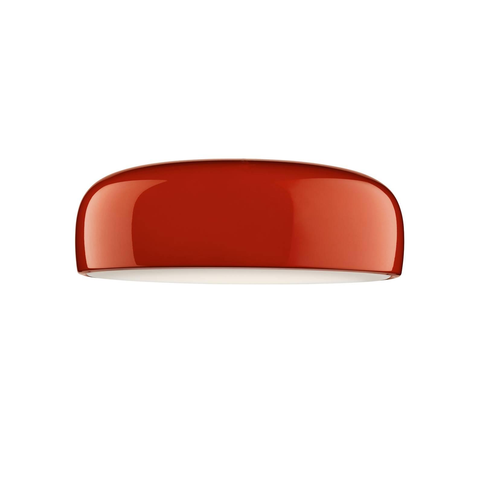 FLOS Smithfield C LED-Deckenleuchte in Rot