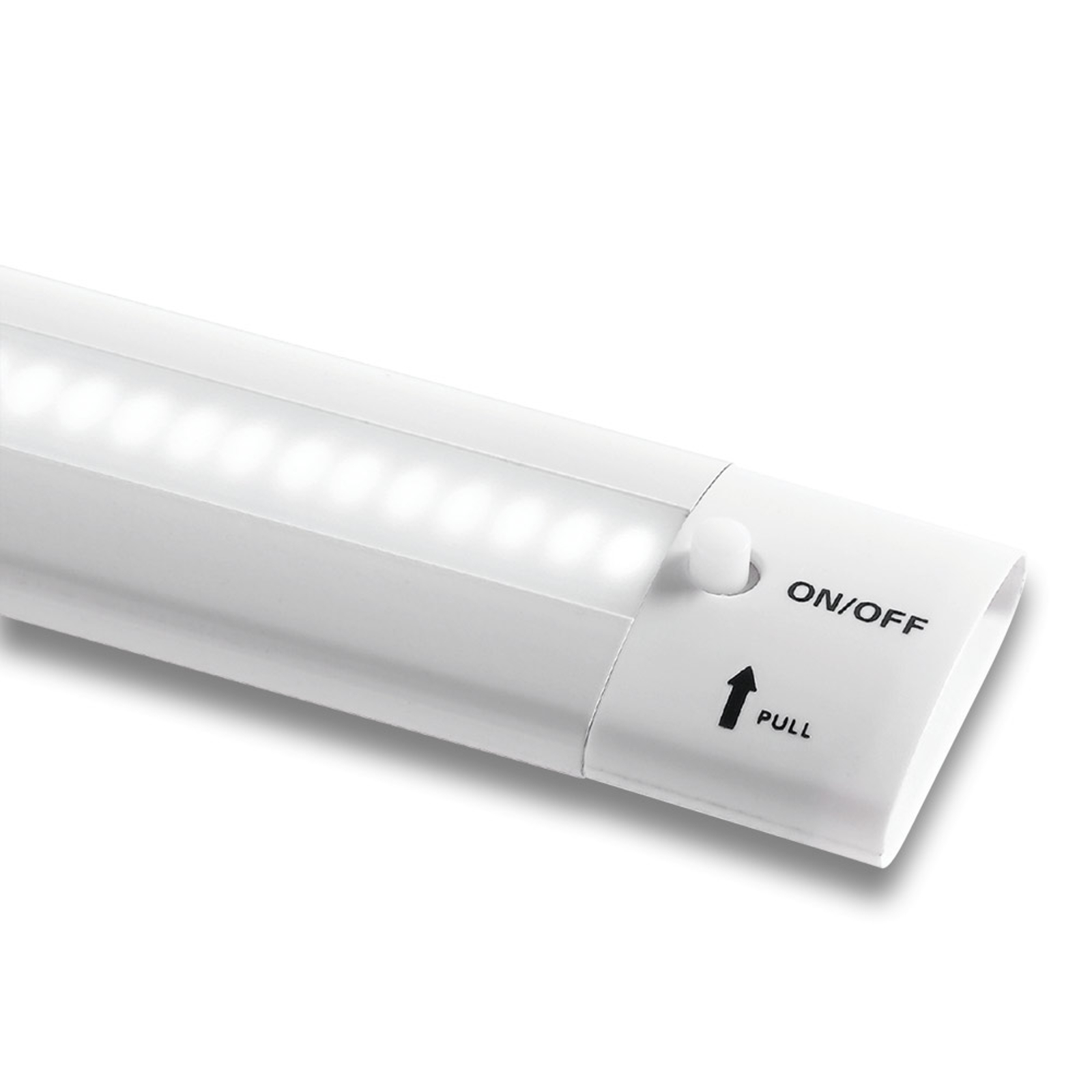 LED-bänklampa Galway 6690, 16 W, vit