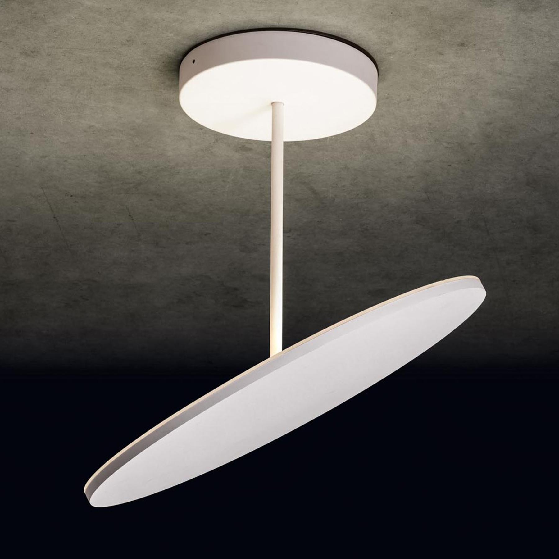 Holtkötter Plano XL LED plafondlamp structuur wit